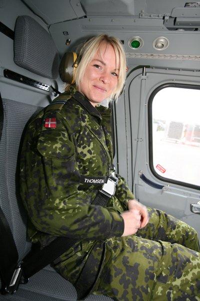 Soldatessa danese: (Fonte: www.miliwoman.com)